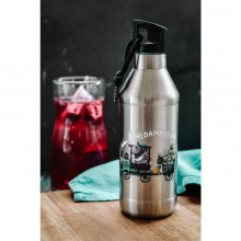 Kinder Trinkflasche »Kohldampflok« – Edelstahl doppelwandig