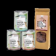 naftie veganes Hundefutter Bio Test-Paket klein
