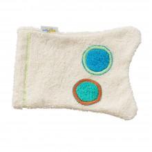 Waschhandschuh Fischschwanz aus Bio-Baumwolle