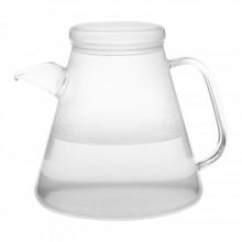 VESUV Wasserkocher mit Glasdeckel, 1,1 l, Trendglas Jena