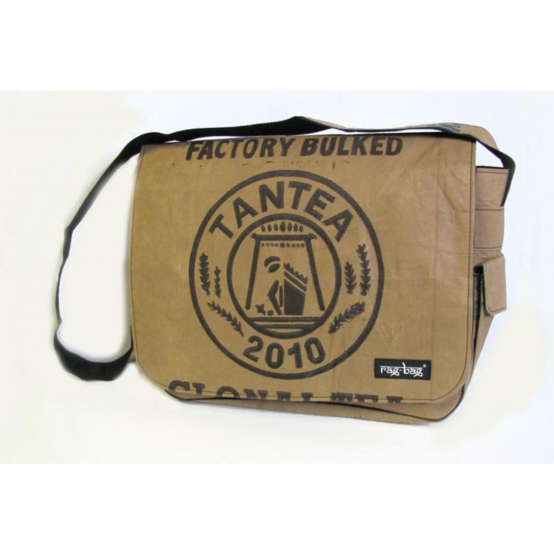 Laptop bag Teabag – recycled tea mega bags | Ragbag