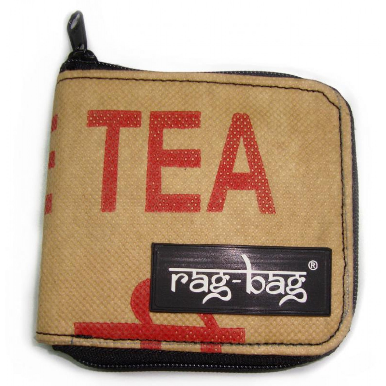Upcycled purse - Teabag Wallet | Ragbag