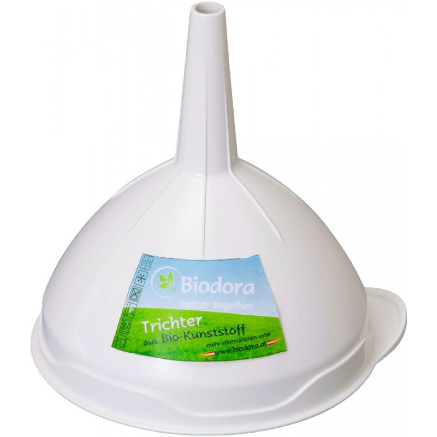 Eco-friendly Funnel from Bioplastics | Biodora