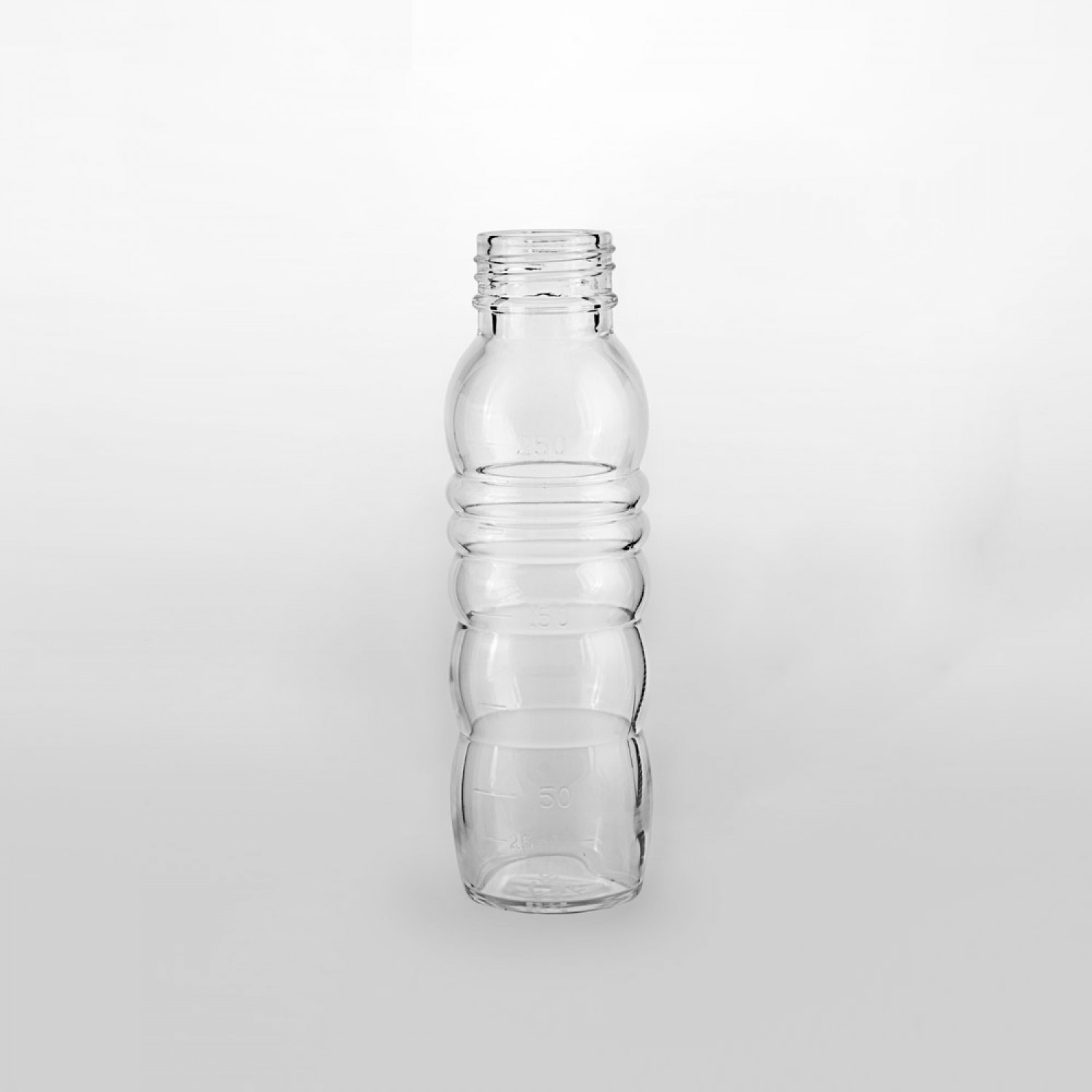 Nature's Design spare glass bottle for THANK YOU wide opening