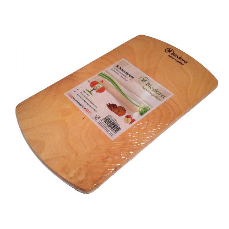 Rectangular cutting board of untreated beech wood | Biodora