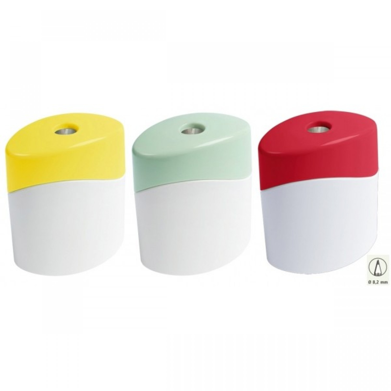 1-hole Sharpener of bioplastics – GREEN LINE | M + R