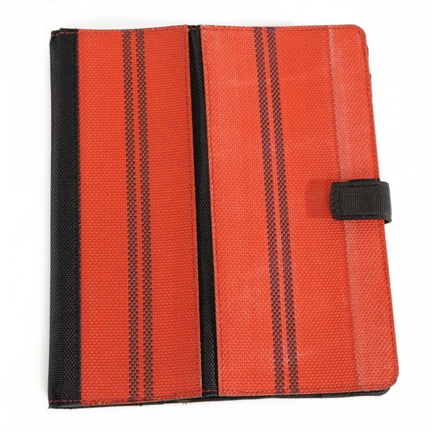 Rita - iPad case in upcycled fire hose fabric | Marron Rouge