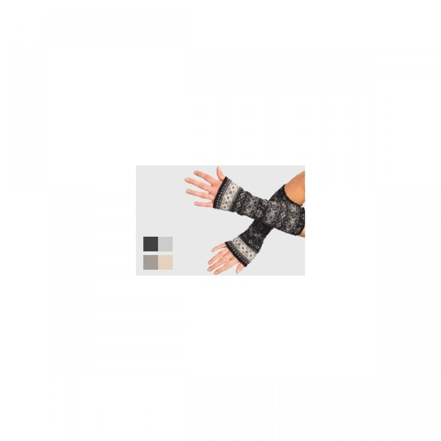 Sleeves/Cuffs | Gauntlets Kristall | merino wool