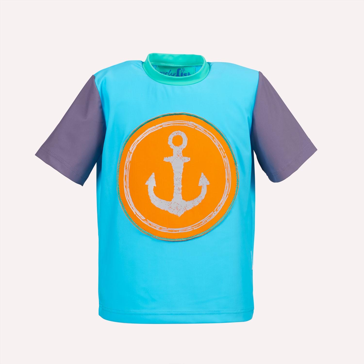 Children's UV protection T-Shirt Anchor | early fish