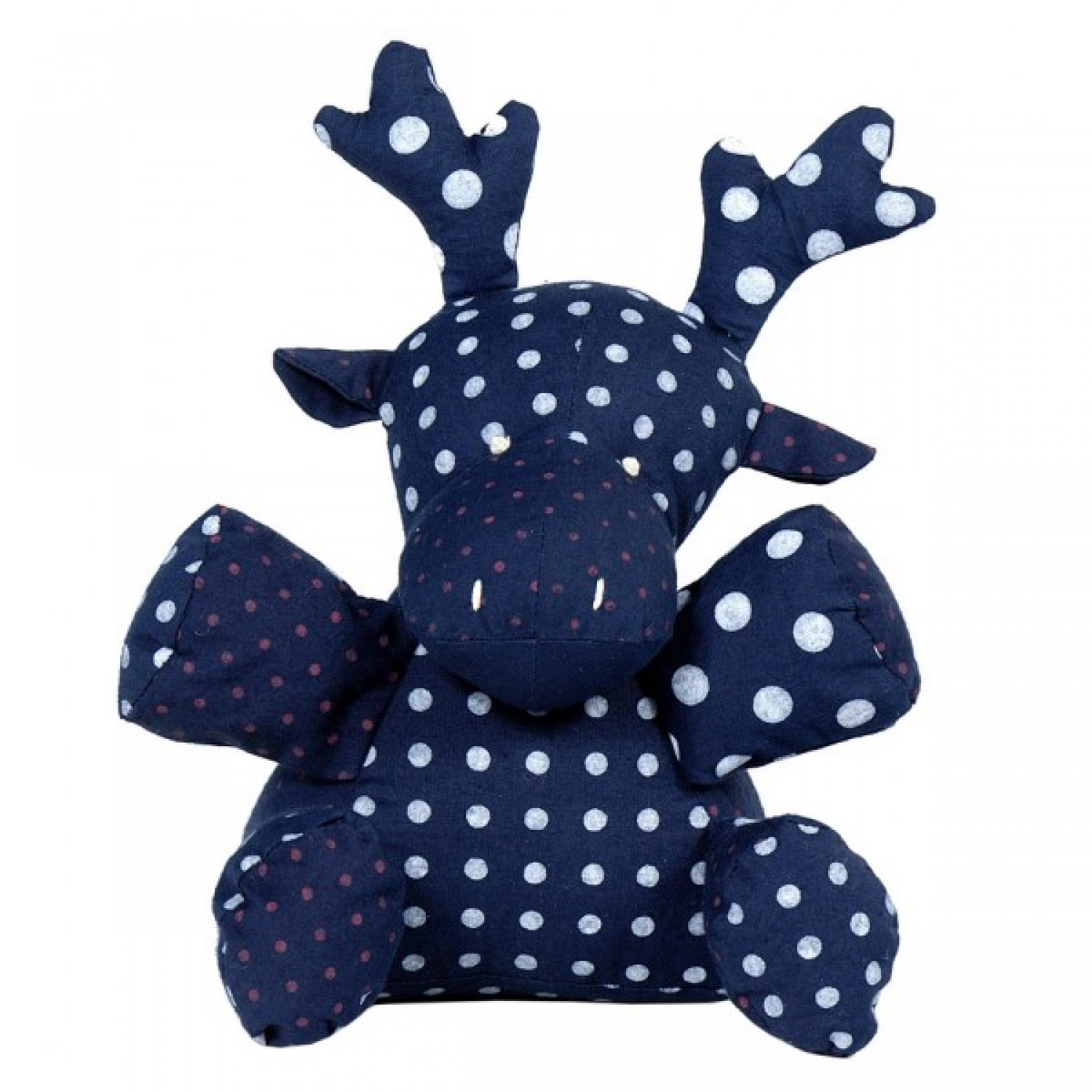 Stuffed toy | Paul the stag in organic cotton
