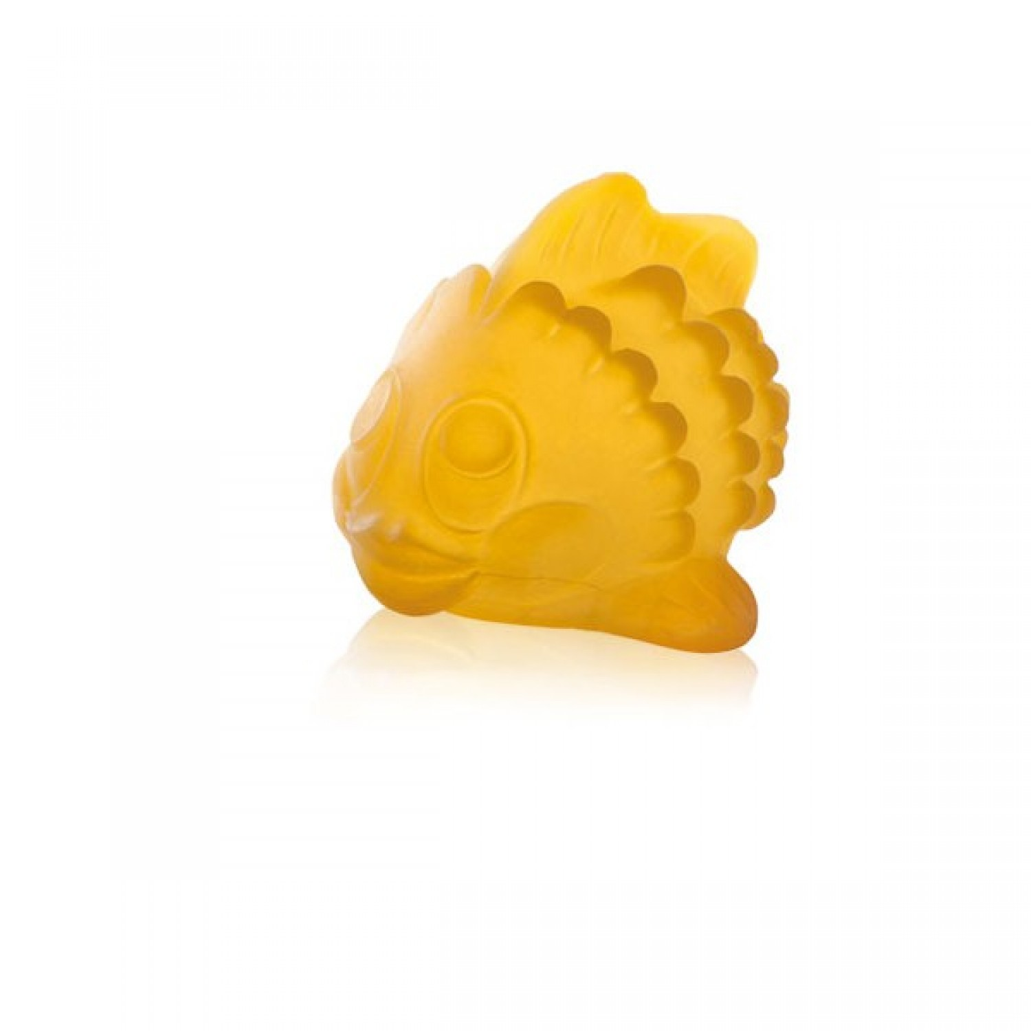 Hevea bathing toy Polly the fish made of natural rubber
