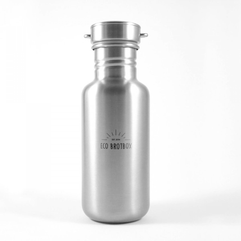 CHI Trinkflasche aus Edelstahl-Bambus