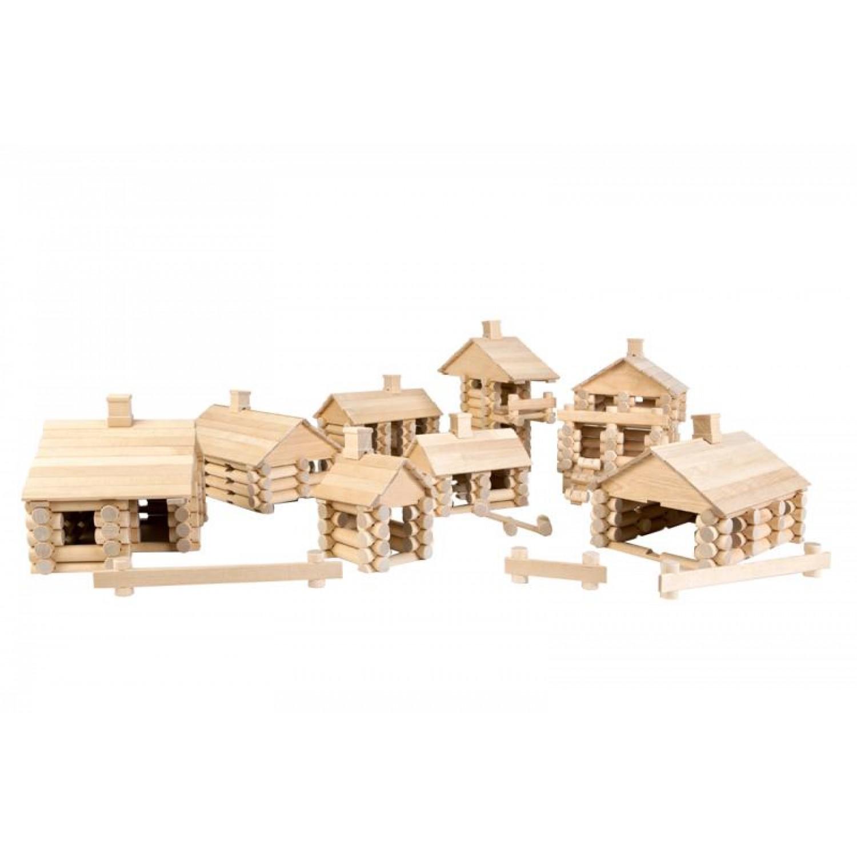 Varis wooden construction set 444 | eco toys