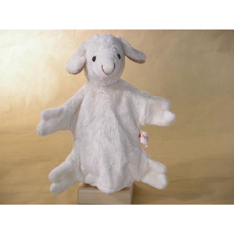 Hand Puppet Sheep vegan - organic cotton toy | Kallisto