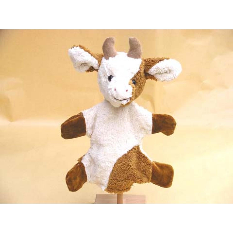 Vegan Handpuppe Kuh Bio-Baumwolle