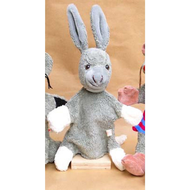 Glove Puppet Donkey Organic Cotton | Kallisto