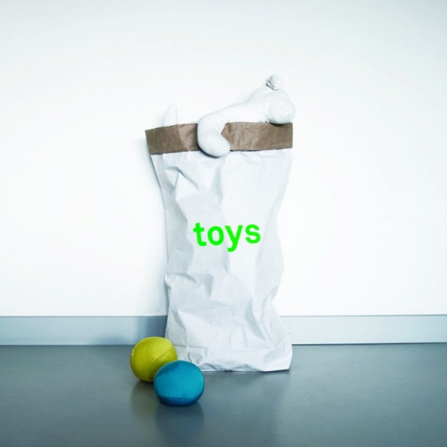 Storage Bag for toys of recycled paper | kolor