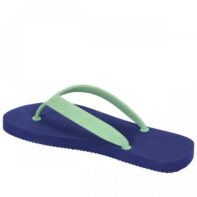Goganics Flip-flops – bioplastics – blue/green