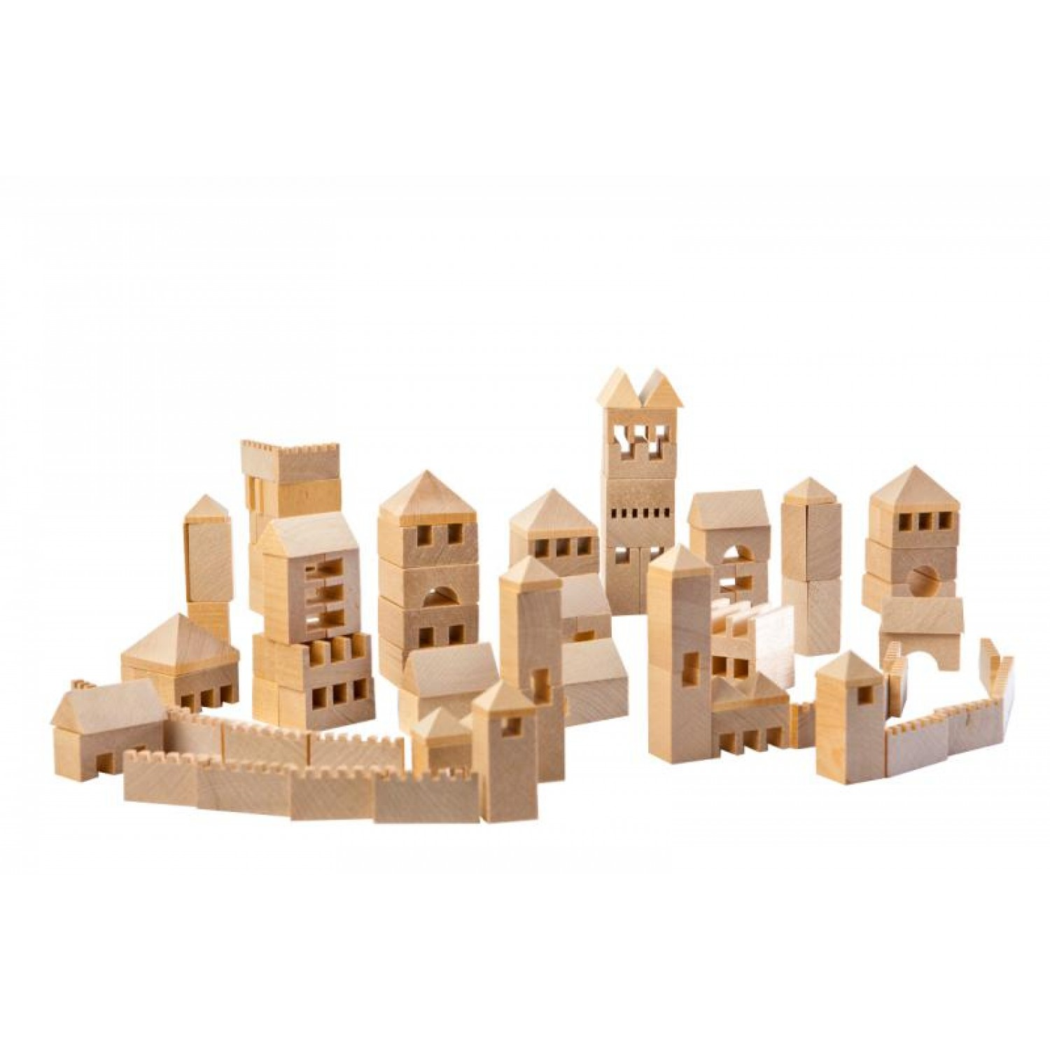 Varis Town Builder 107 – wooden eco toy