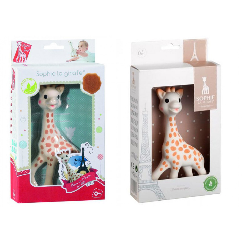 Sophie the giraffe - eco gift for birth | Sophie la girafe