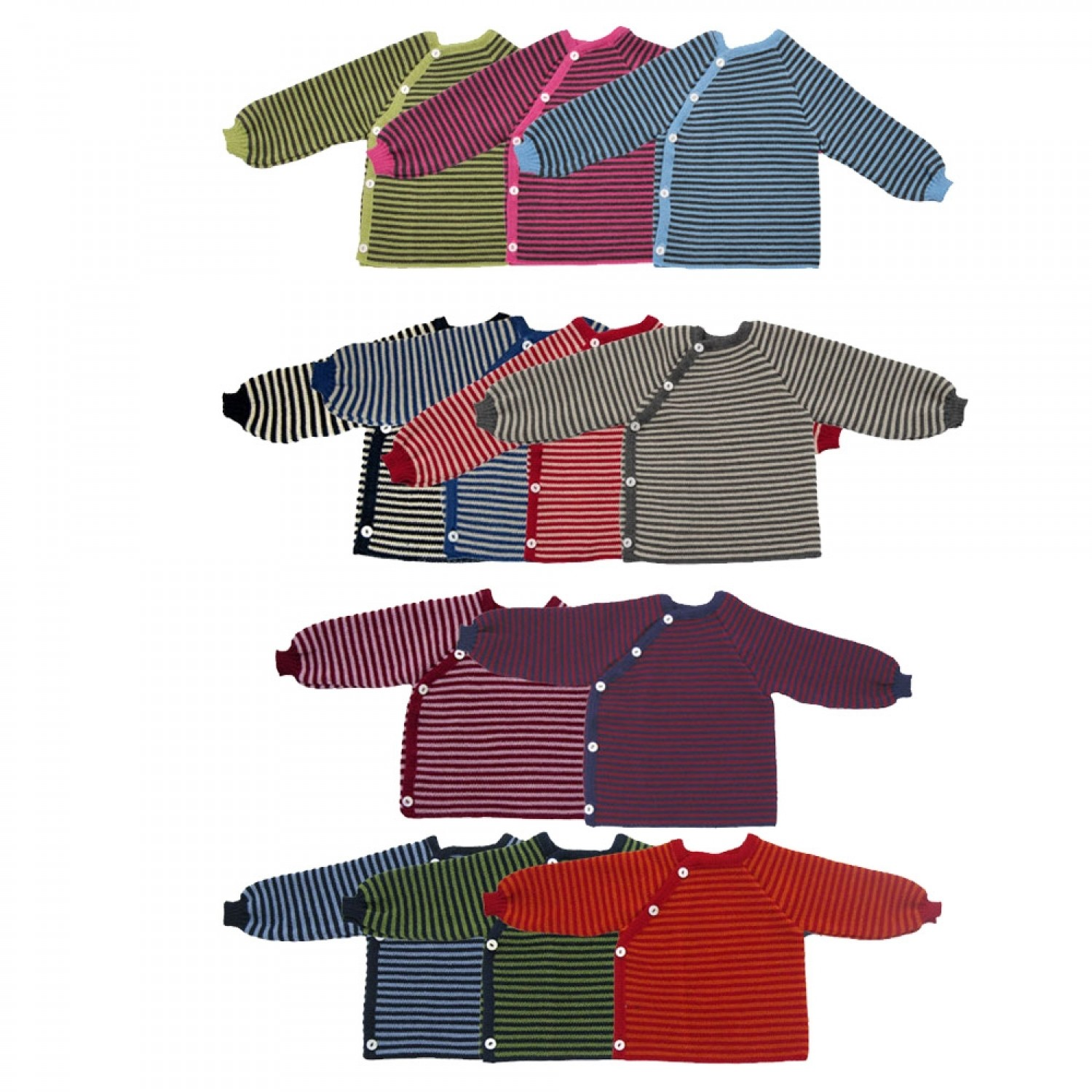 Eco Wool Jumper with Button Tape | Reiff