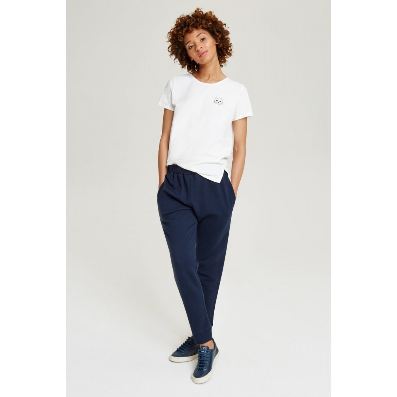 Abbey Fleece Trousers of Fair Trade Cotton | People Tree