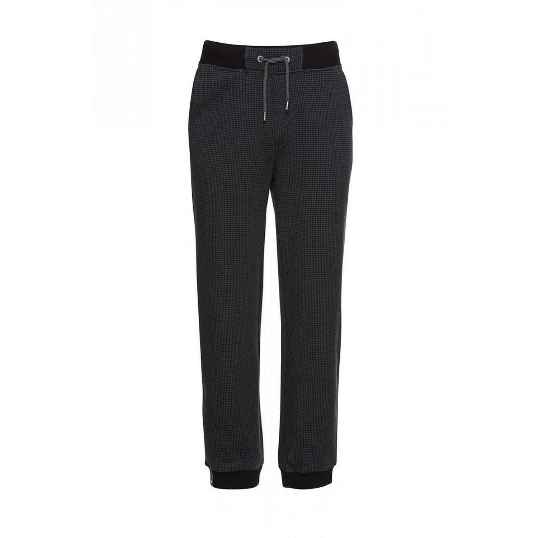 Eco Sweatpants Classic #CHECKED grey-black | recolution