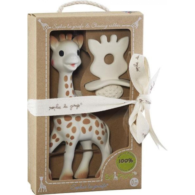Sophie la girafe + Chewing Rubber So'Pure