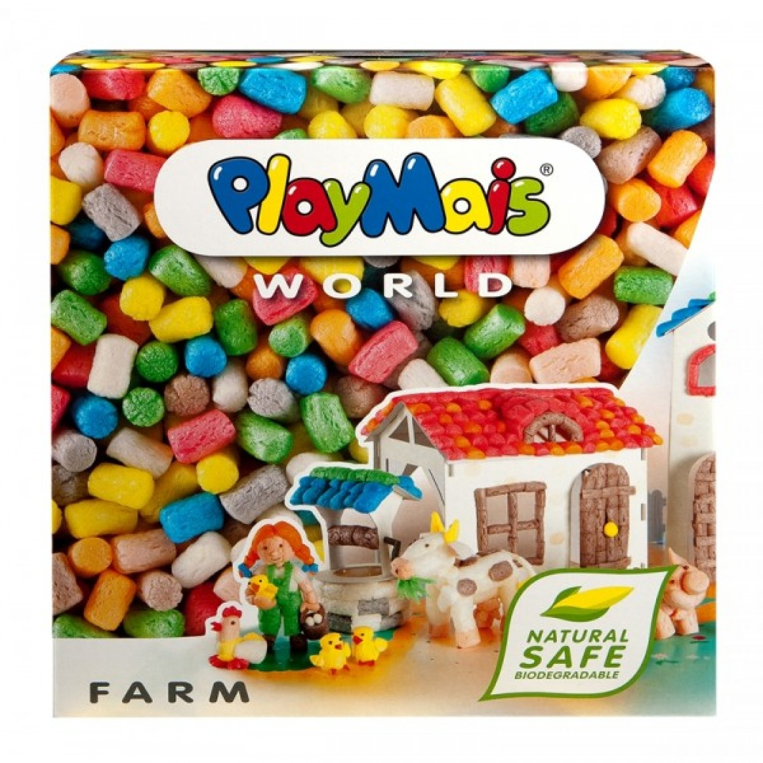 PlayMais WORLD Farm eco game