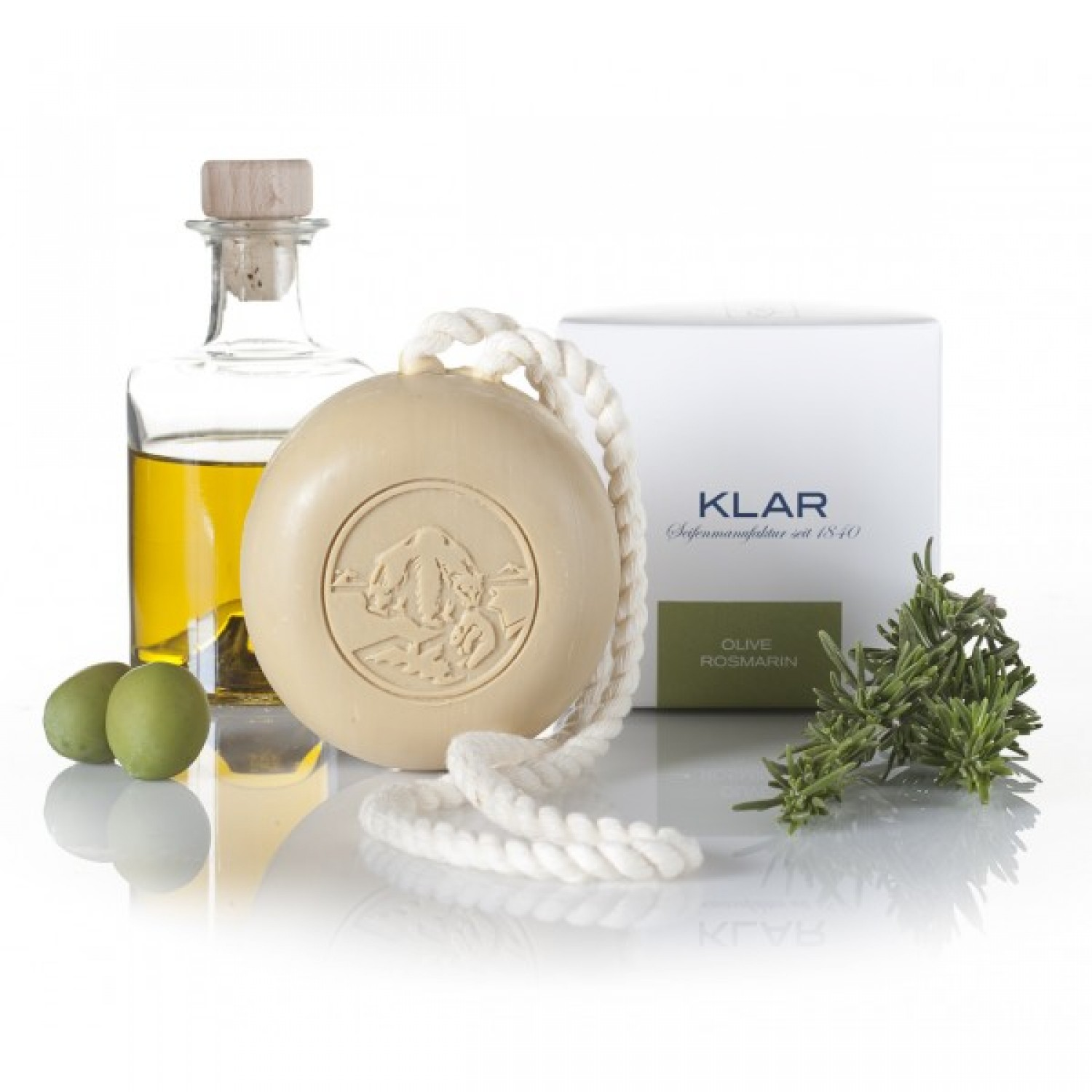 Vegan & Organic Hair and Body Soap Rosemary | Klar Soap