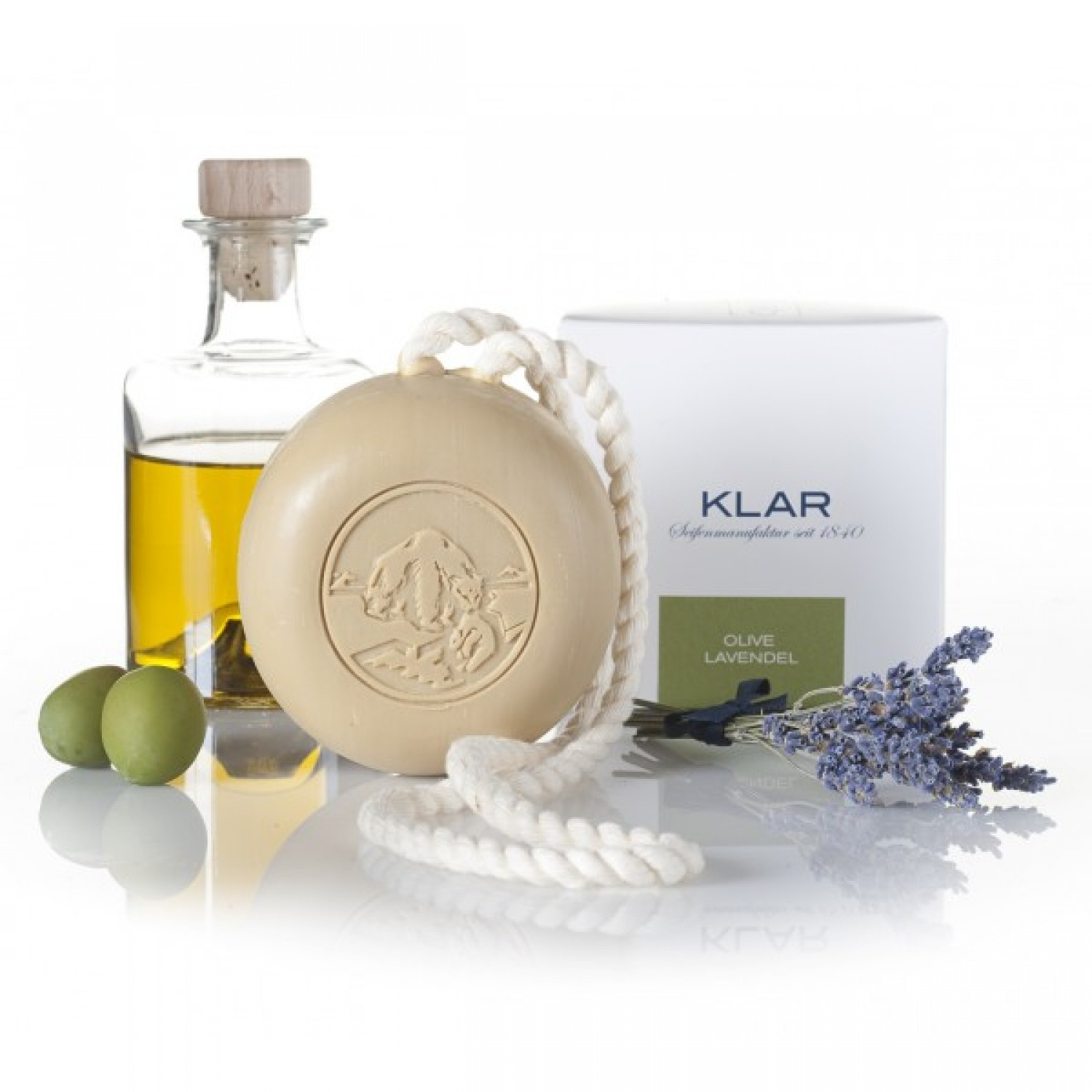 Vegan and Organic Hair and Body Soap Lavender | Klar's