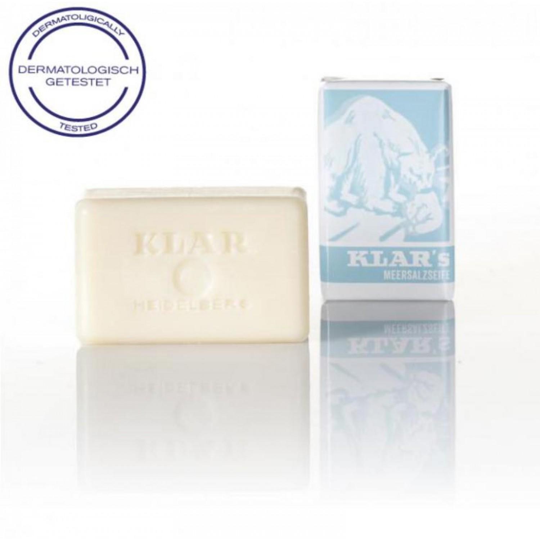 Organic Sea Salt Soap - vegan | KLAR soap