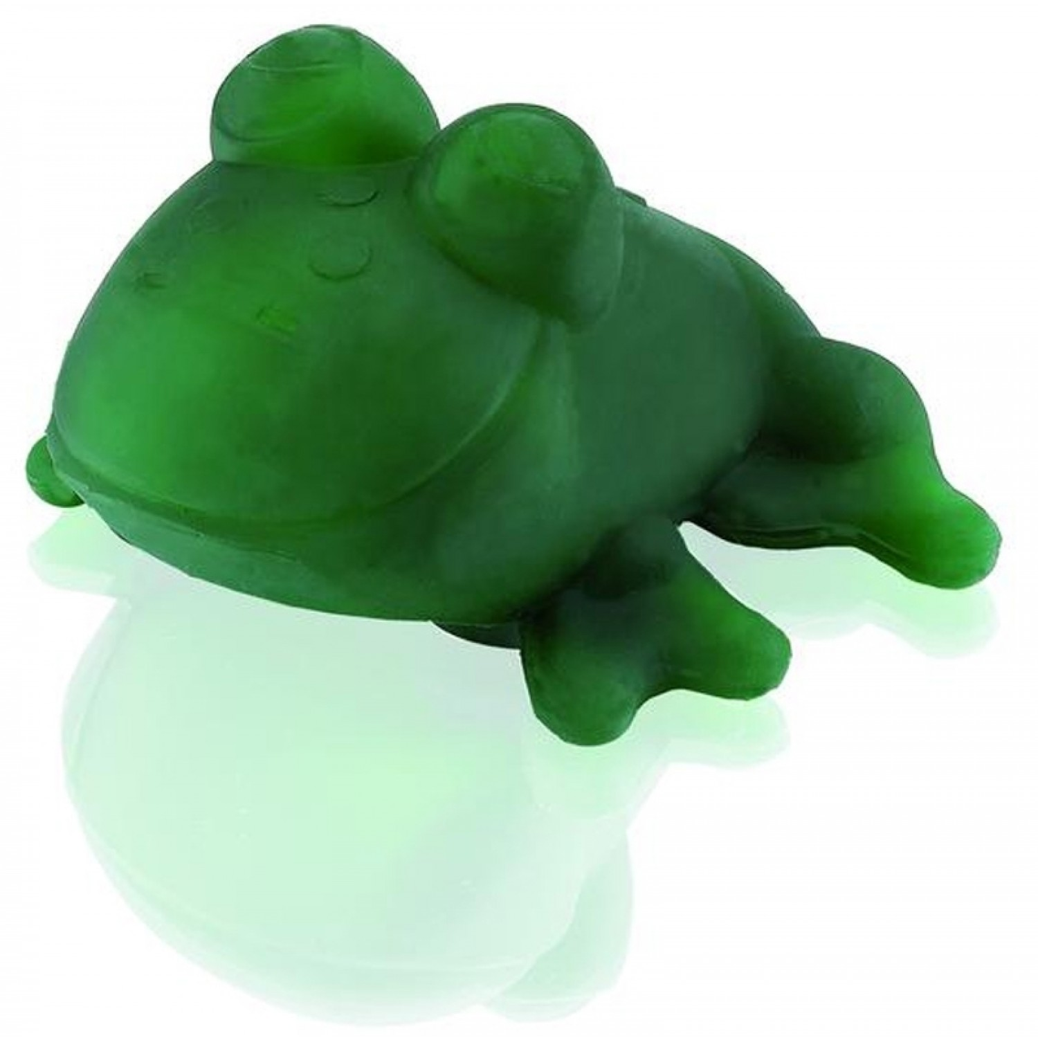 Hevea Fred, the green frog - natural rubber eco bath toy