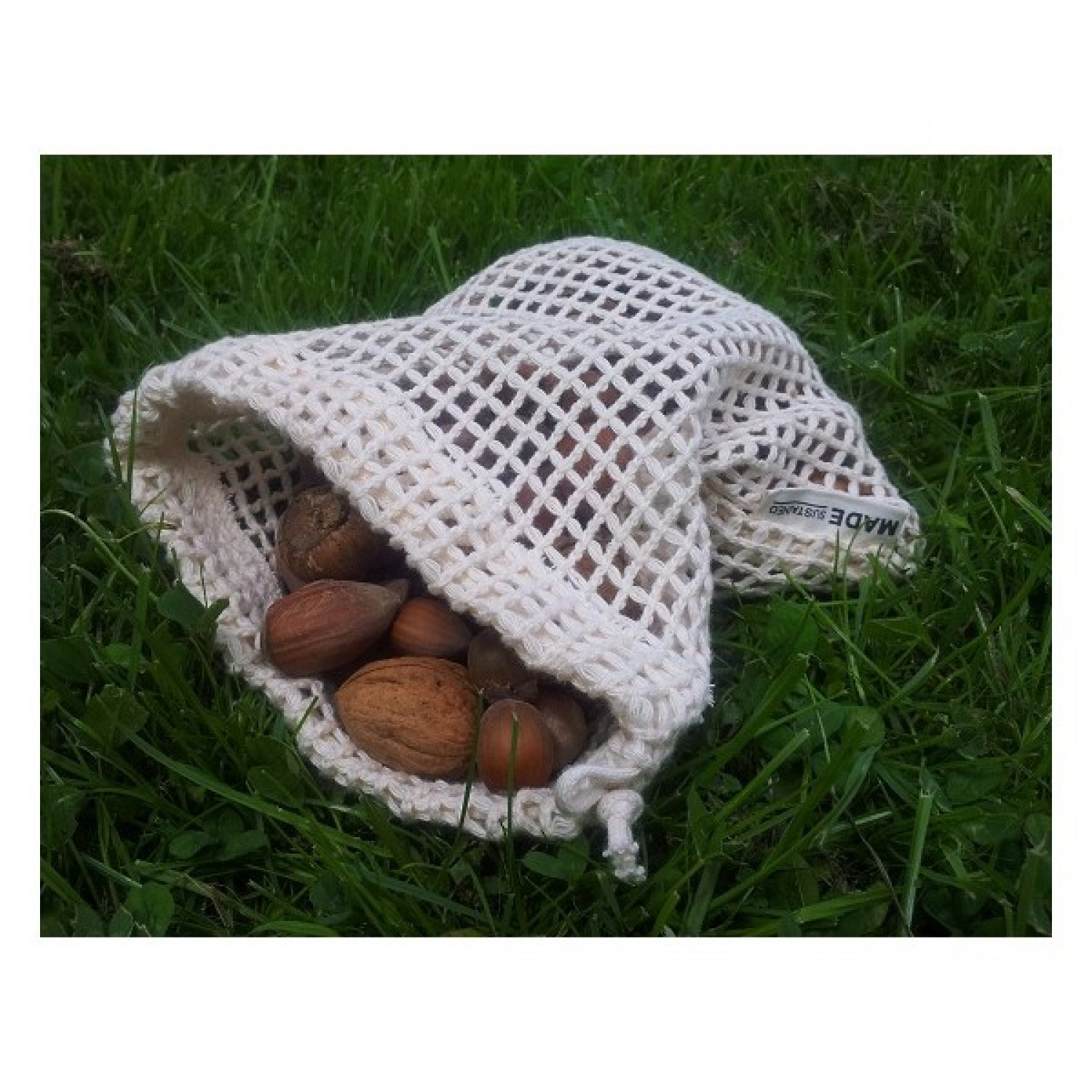 Re-Sack Net Small – Fruit net of organic cotton