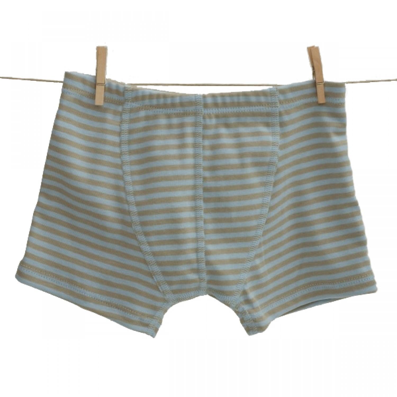 Popolini Iobio Boxer Shorts GOTS blue-sandy
