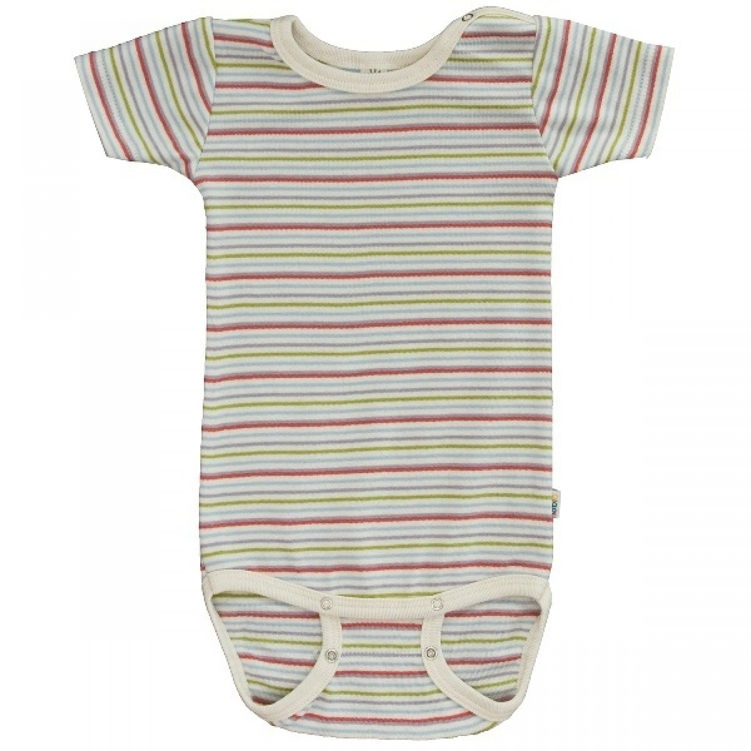 Popolini iobio Bodysuit half-sleeved GOTS cotton