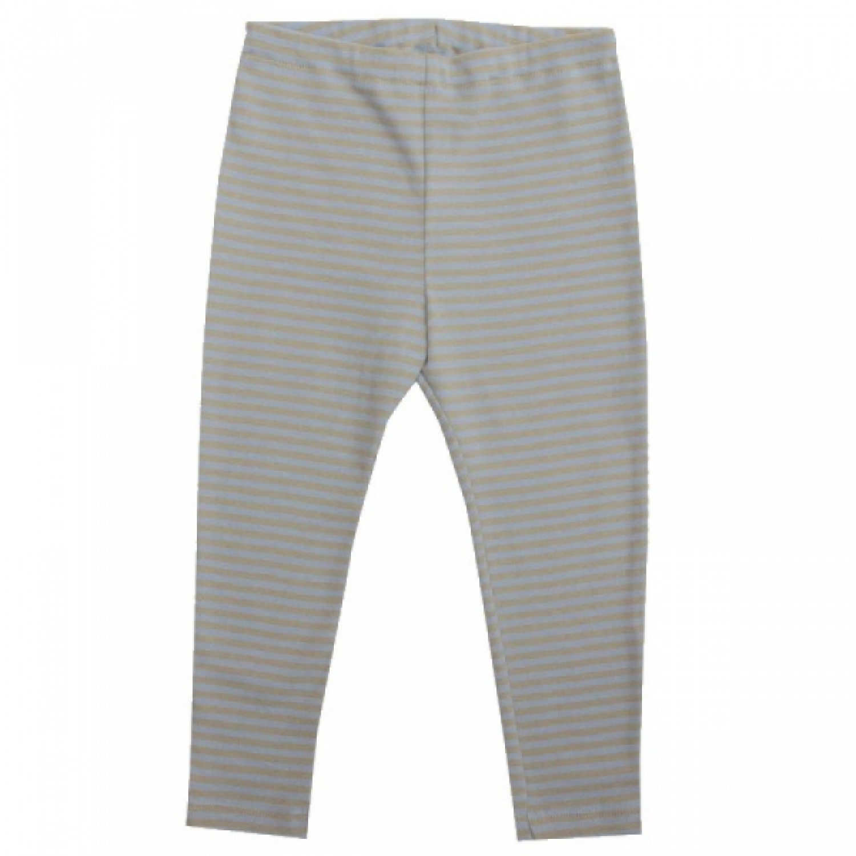 Long Johns for boys - blau-sandy organic cotton | iobio