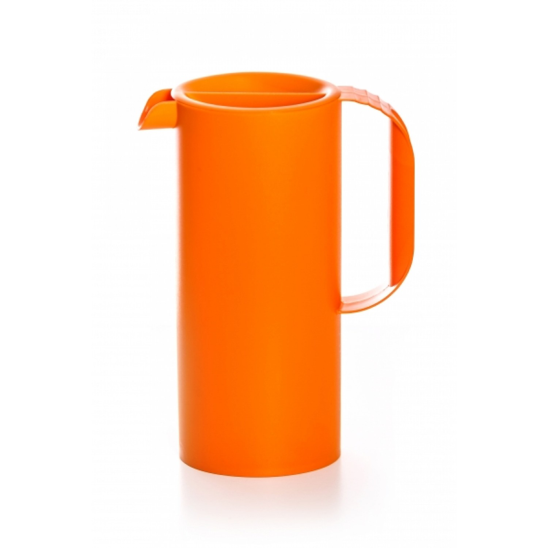 Juice jug made from bioplastics orange | BioFactur