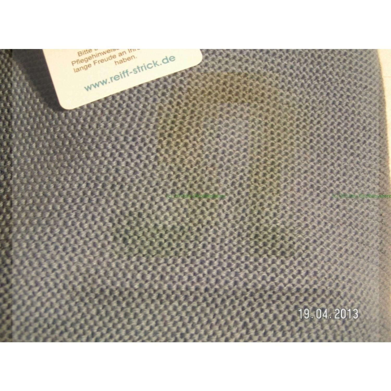 Babys blanket organic merino wool stone