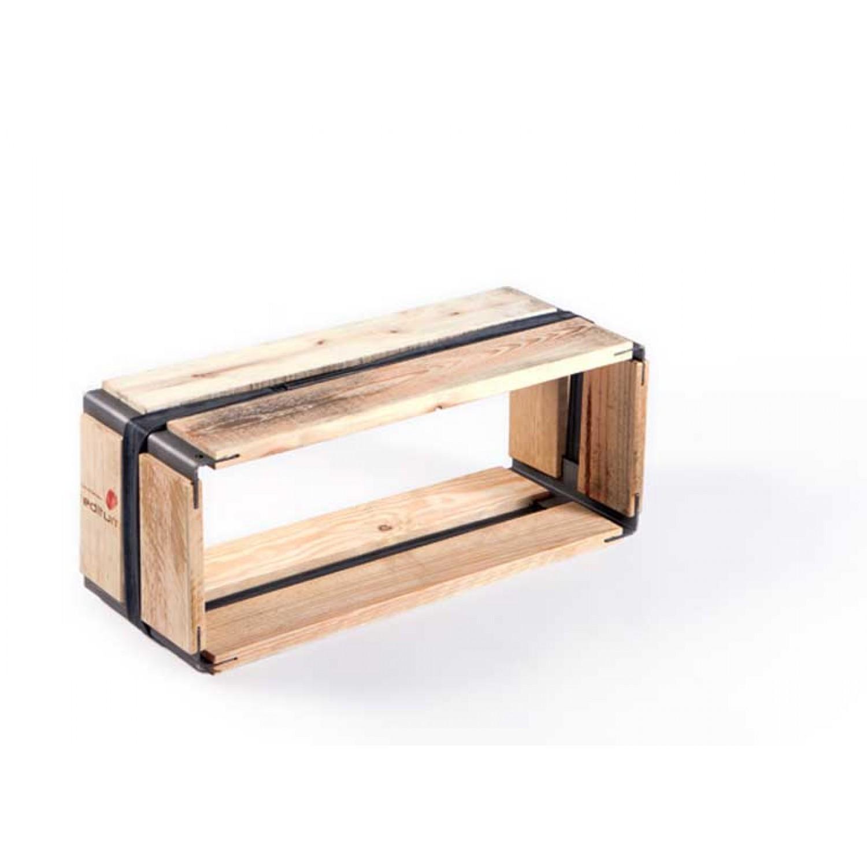 Upcycled pallets shelf MOVEO. VIA 20.50 | reditum