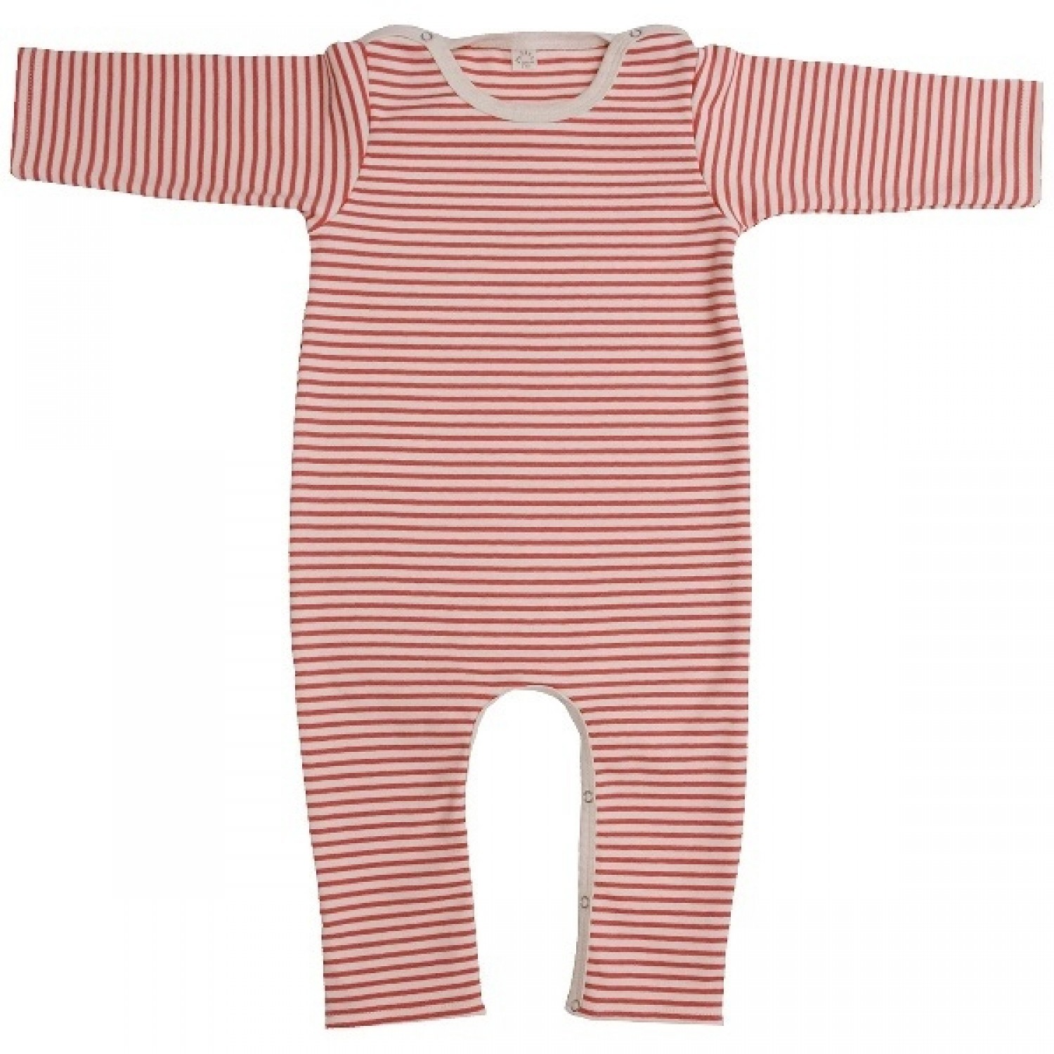 Red Baby Overall without feet of organic cotton | iobio