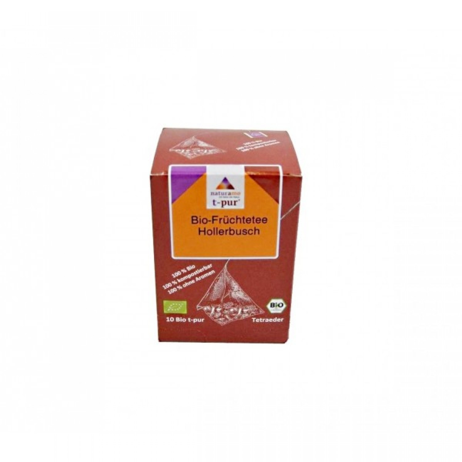 Organic Fruit Tea Elder Bush with Karkade naturamo