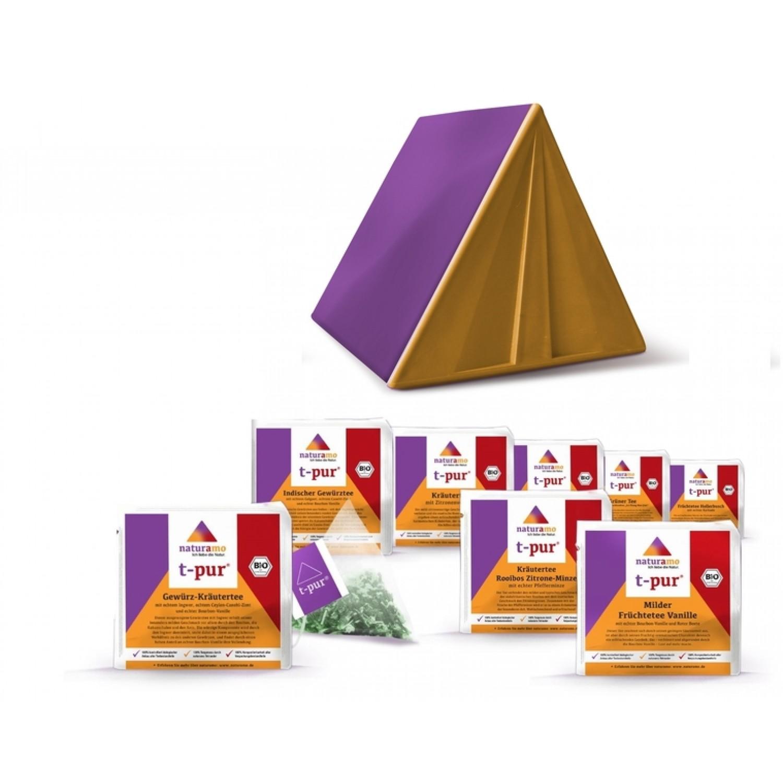 Organic Tea in botiga-box – Tasting set | naturamo