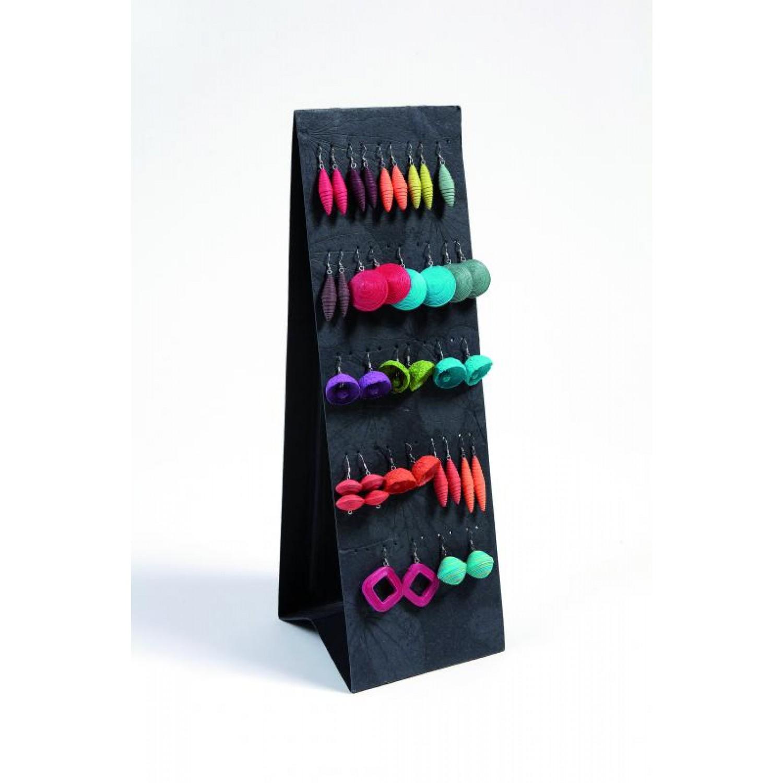 Earring Display Earrings Holder of eco paper