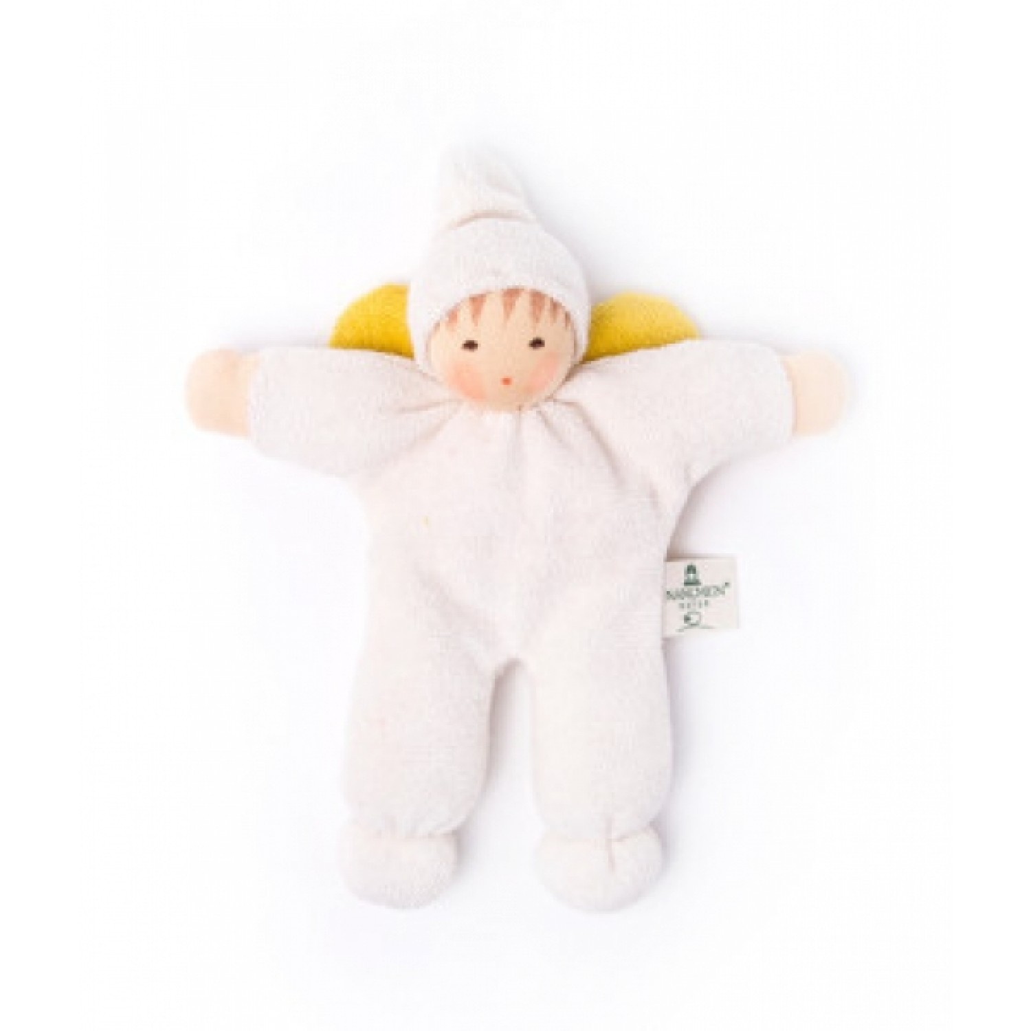 Grasping Toy & Doll Angel of Organic Cotton | Nanchen
