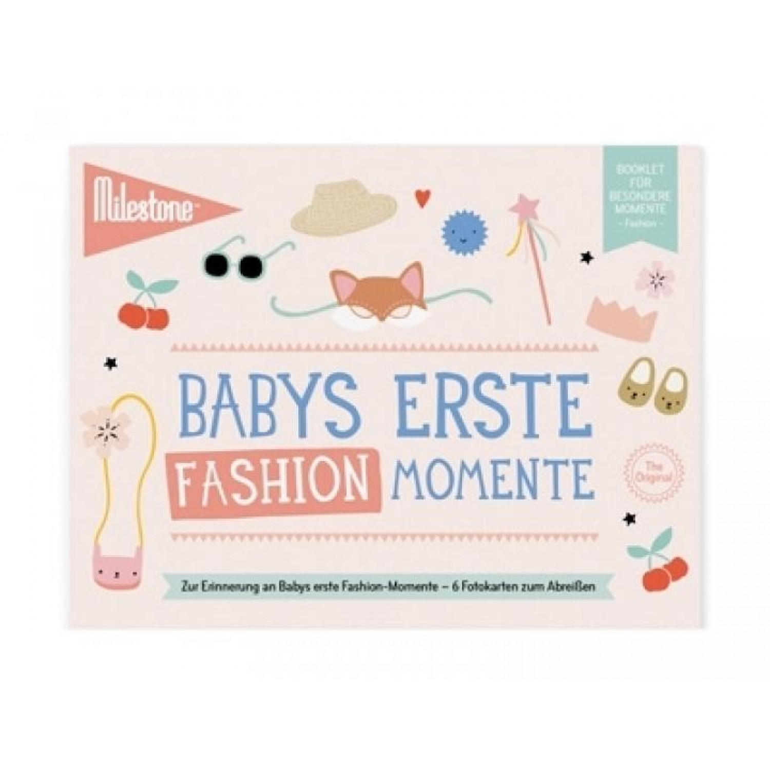 Baby's First Outdoor Moments Booklet in German | Milestone