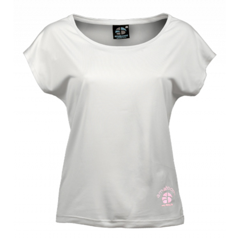 Women T-Shirt KAILASH 100% recycled – Snow White