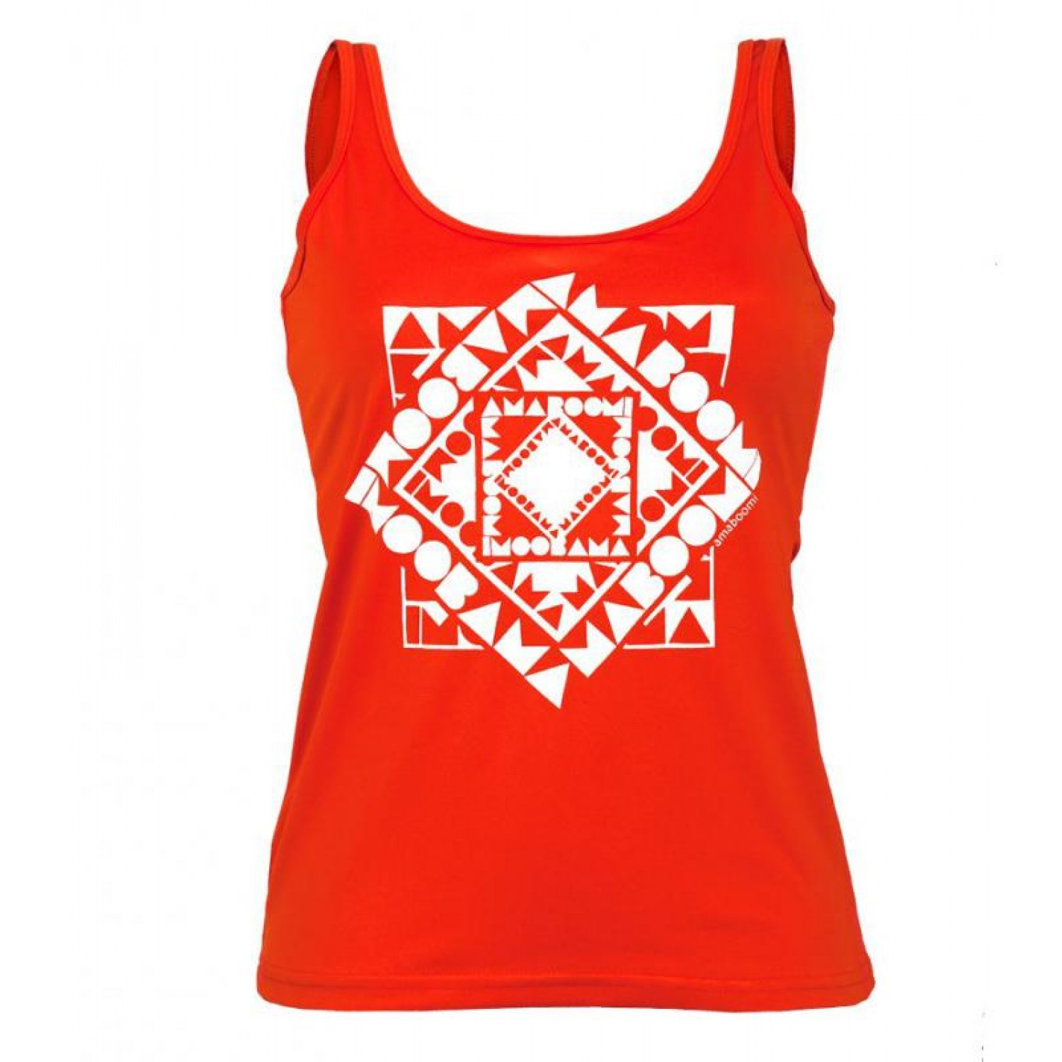 Women Tank Top KAHIWA 100% recycled – Magma Red