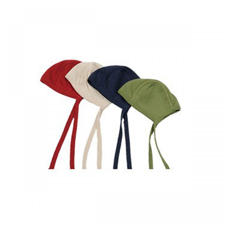 Baby Bonnet Cap | Organic Terrycloth + Silk | Reif