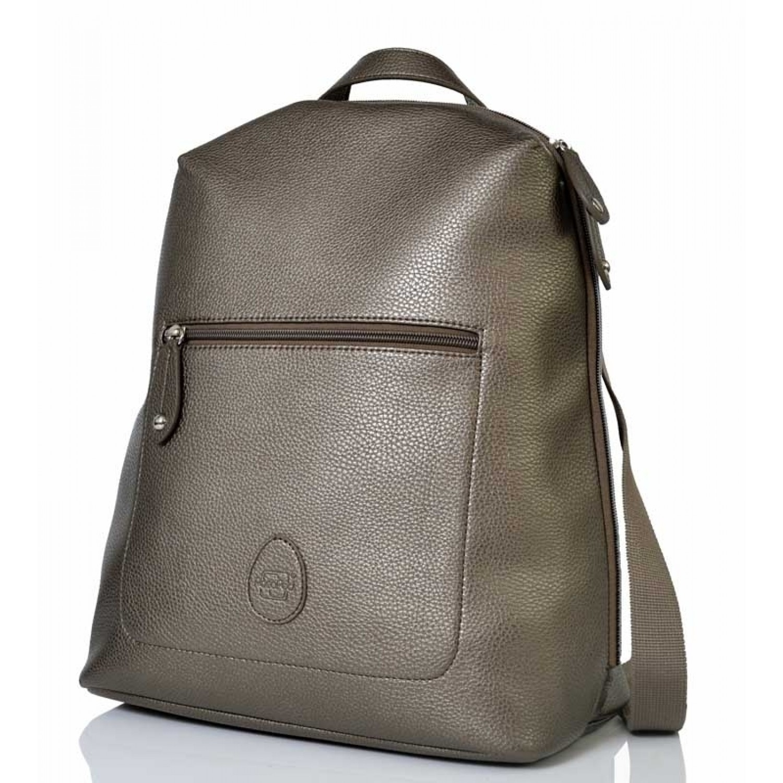 PacaPod Hartland Gunmetal - Backpack & Eco Changing Bag
